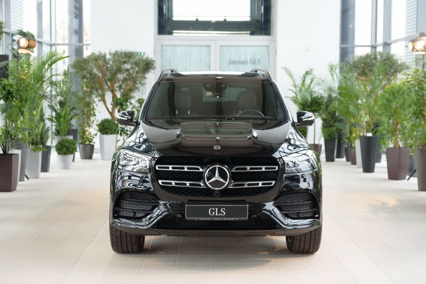 "SIA ""Domenikss"" offers the first in the Baltics Mercedes-Benz GLS off-road S Class"