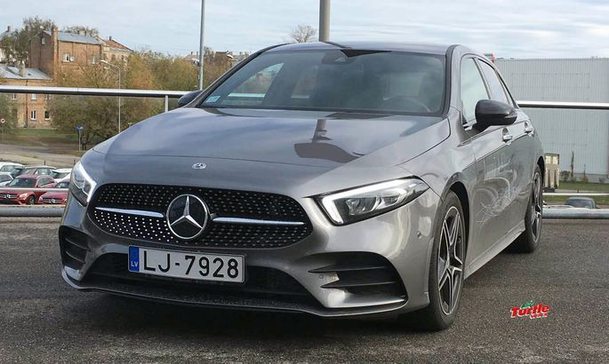 TVNET tests: Mercedes - Benz A200 AMG Line